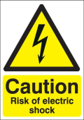 Varování před elektrickým proudem